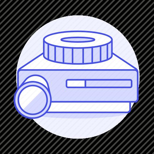 film, image, pictures, projector, retro, slide, vintage icon