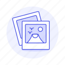 1, image, images, instant, photo, pictures icon