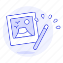 magic, image, picture, photo, wand, edition icon