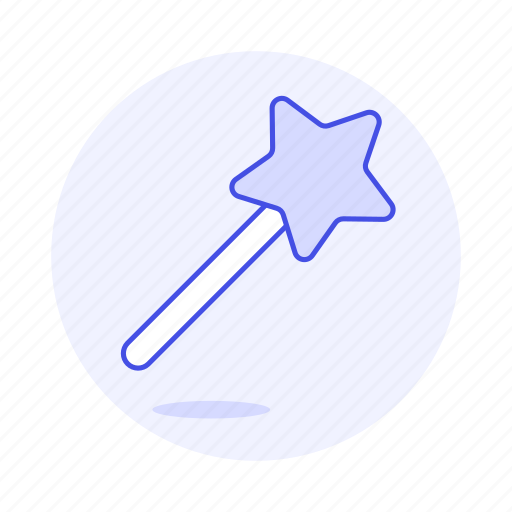 3, edition, image, magic, photo, picture, star, wand icon