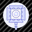 equipment, gear, image, photo, photography, spotlight, studio icon