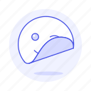 circle, edition, emoji, image, smiley, sticker, wink icon