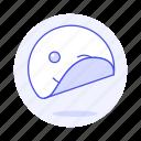 circle, edition, emoji, image, smiley, sticker, wink icon