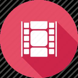cinema, clip, film, movie, multimedia, short, video icon