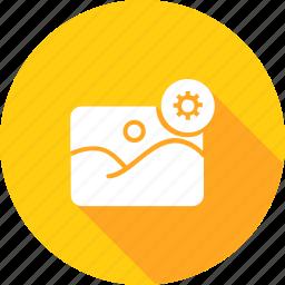 album, gallary, image, photo, picture, setting, video icon