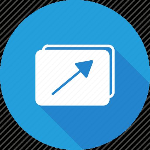 fullscreen, gallary, image, maximize, photo, picture, video icon