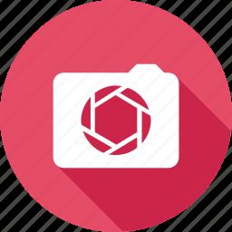 aperture, camera, capture, focus, photo, video icon