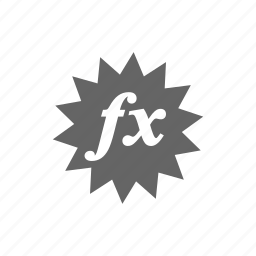 effect, fx icon