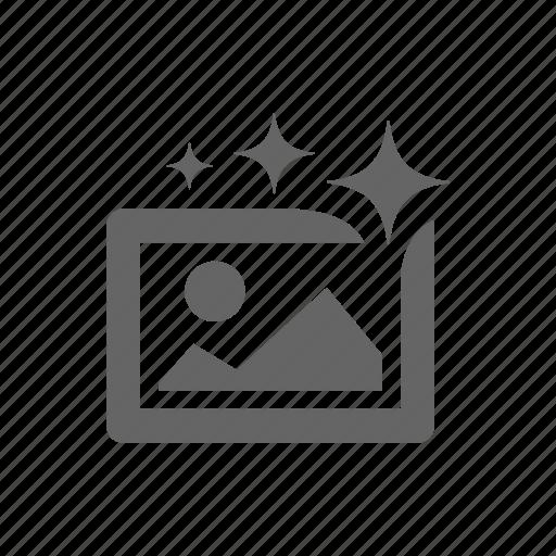 auto, enchance, improve, magic icon