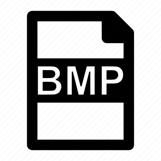bmp, extension, file, format, image, type icon