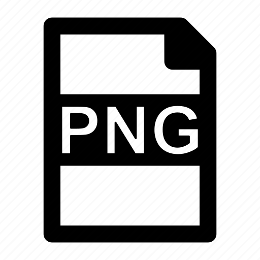 extension, file, format, image, png, type icon