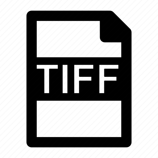 extension, file, format, tif, tiff, type icon
