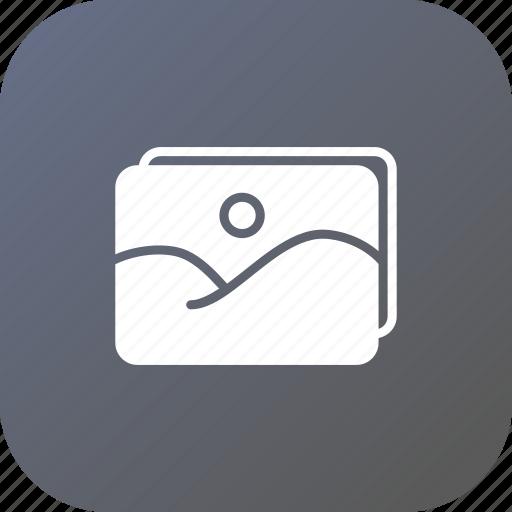 album, gallary, image, landscape, photo, picture, video icon