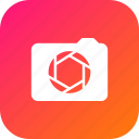 aperture, camera, capture, focus, photo, video icon