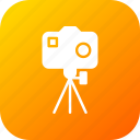 camera, capture, device, photo, photography, stand, video icon