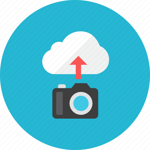 camera, upload icon