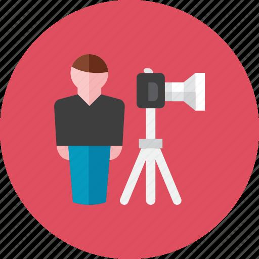 cameraman icon