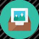 box, image icon