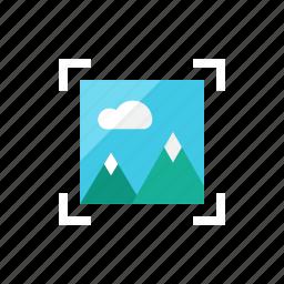 focus, image icon