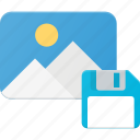 floppy, image, photo, photography, picture, save icon