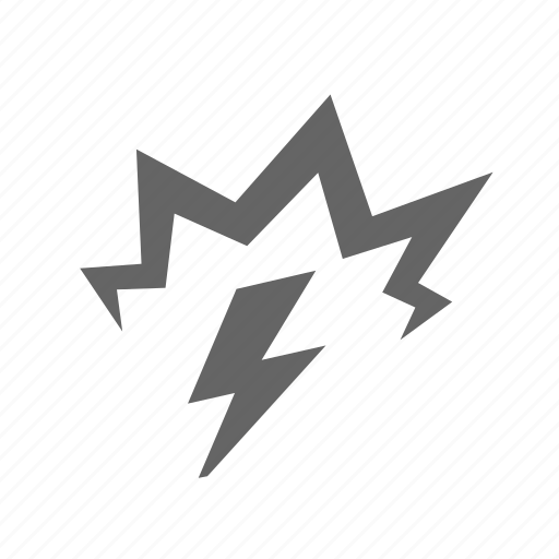 carefully, electricity, energy, high, lightning, power, voltage icon