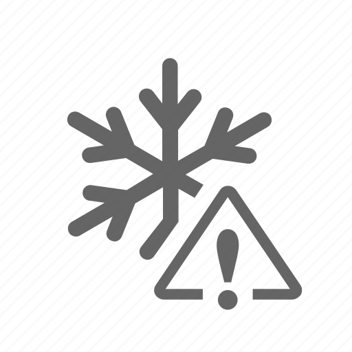 cold, frostily, icily, low, snow, snowflake, temperature icon