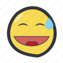 colored, emoji, emoticon icon