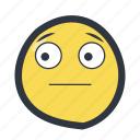 colored, emoji, emoticon, surprise