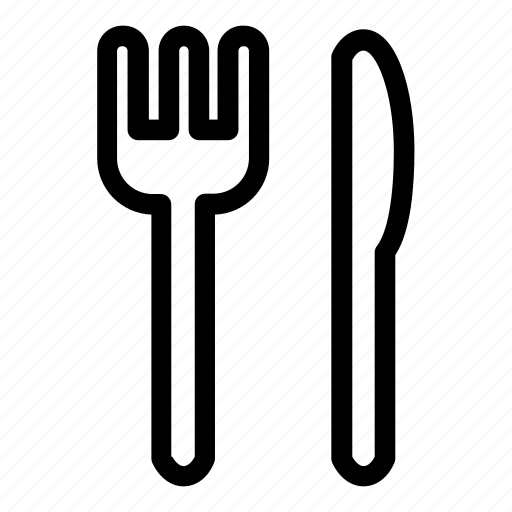 cook, cooking, eat, eating, food, fork, kitchen, knife, restaurant, spoon, utensils icon