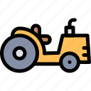 farm, nature, tractor, village icon