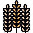 farm, nature, village, wheat icon