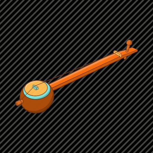 cartoon, ektara, india, indian, instrument, music, one icon