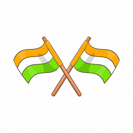 cartoon, country, flag, illustration, india, nation, national icon