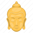buddha, buddhism, cartoon, india, religion, sculpture, zen icon