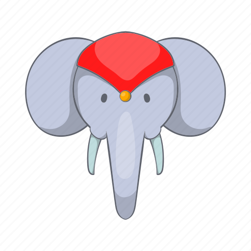animal, cartoon, elephant, ethnic, india, indian, travel icon