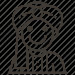 avatar, india, man icon