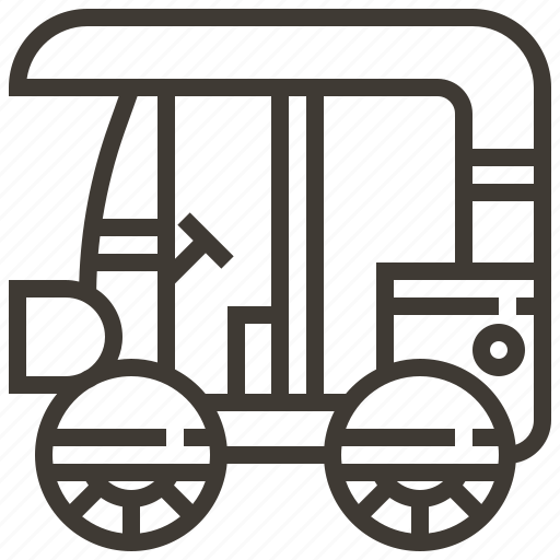 cart, drive, vehicle icon