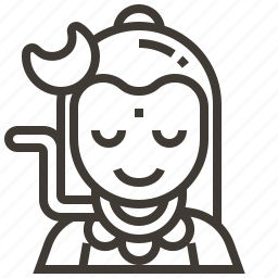 avatar, india, meditate, meditation icon