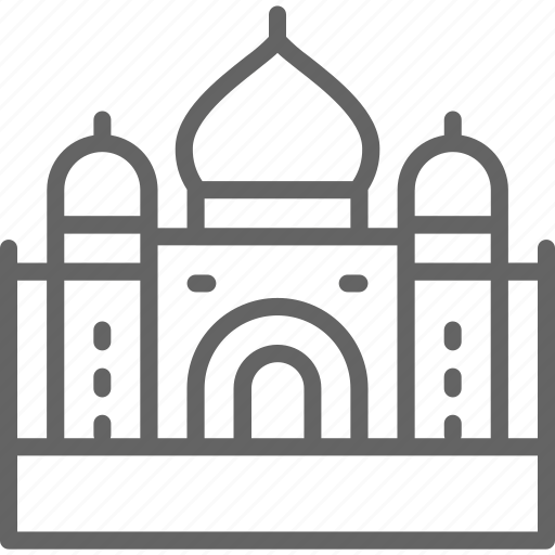 Agra, culture, india, indian, mahal, taj, temple icon - Download on Iconfinder