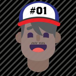 avatar, boy, east, india, indian, man, smile icon