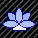 flower, india, lotus, plant icon