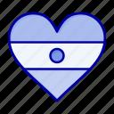 flg, heart, heartflag, indian