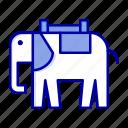 africa, animal, elephant, indian