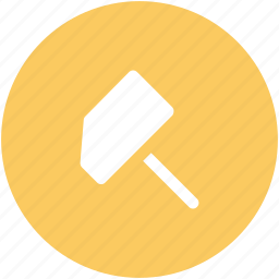 construction tool, hammer, hand tool, hit tool, industrial tool, mallet, maul icon
