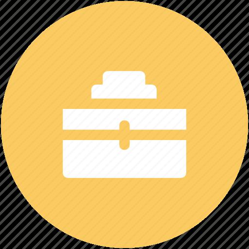 bag, briefcase, business bag, luggage bag, office bag, office case, travel bag icon