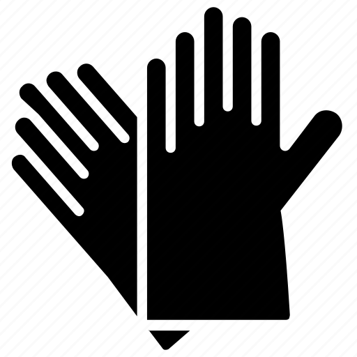 Gloves, hand gloves, leather gloves, rubber gloves, safety gloves icon - Download on Iconfinder