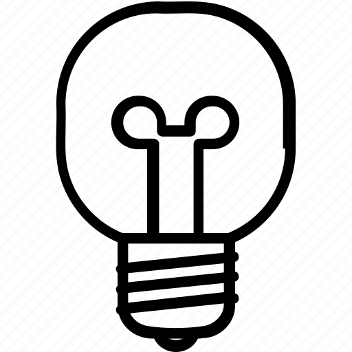 Electric light, incandescent lamp, incandescent light bulb, inventions, lighting icon - Download on Iconfinder