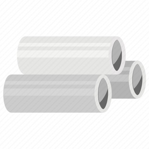 barrier pipes, plastic pipes, pvc pipes, solid pipes, waste water pipes icon