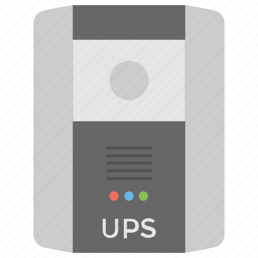 electric apparatus, emergency power system, uninterruptible power source, uninterruptible power supply, ups icon