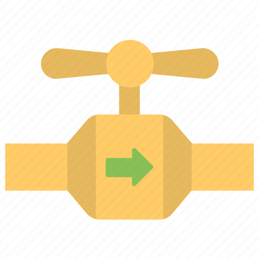 Gas pipeline, gas station, pipeline, pipeline valve, plumbing icon - Download on Iconfinder